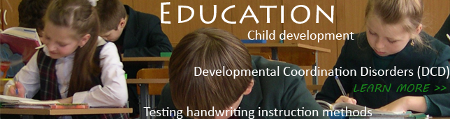 Educational handwriting analysis and testing