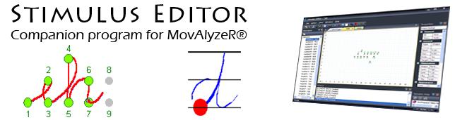Stimulus Editor - MovAlyzeR movement analysis software addon