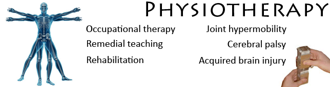 occupational therapy, remedial teaching, rehabilitation, cerebral palsy, acquired brain injury, joint hypermobility